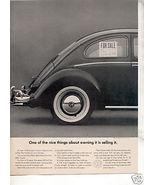 1964 VW VOLKSWAGEN BUG BEETLE CAR AD - $7.99