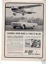 1964 OLDSMOBILE 88 JETFIRE VINTAGE CAR AD - $8.25