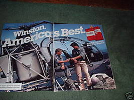1983 WINSTON CIGARETTE AD MOUNTAIN PATROL 3-PAGE - $9.99