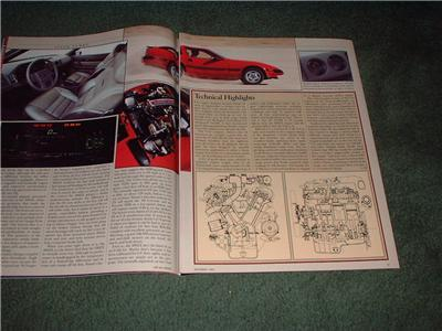 1984 NISSAN 300ZX 300 ZX TURBO DRIVING IMPRESION CAR AD