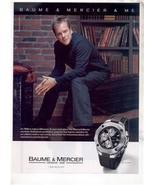 KIEFER SUTHERLAND BAUME & MERCIER WATCH AD - $7.99
