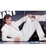 CONAN OBRIEN PHOTO PROMO AD AND INTERVIEW 4 PAGE - $7.99