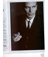 BILLY BOB THORNTON PHOTO MAG PIN UP & 1-PAGE INTERVIEW - $4.99