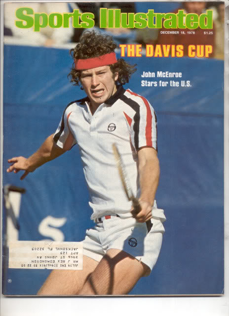 * 1978 SPORTS ILLUSTRATED JOHN MCENROE THE DAVIS CUP