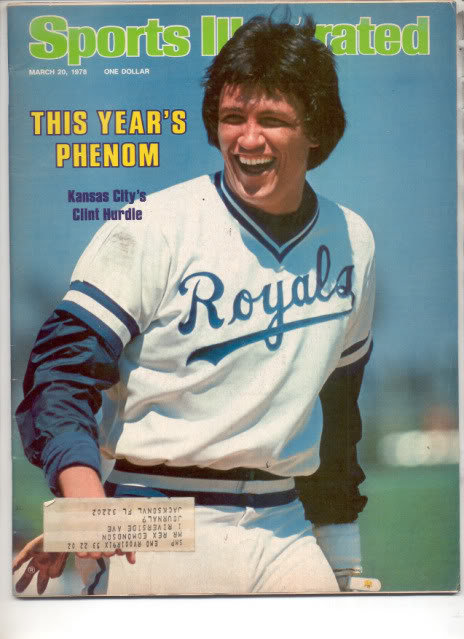 * 1978 SPORTS ILLUSTRATED KANSAS CITY CLINT HURDLE