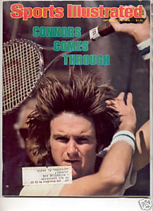 * 1978 SPORTS ILLUSTRATED JIMMY CONNORS COMES THRU