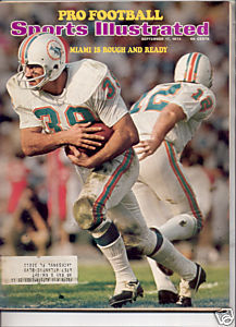 1973 SPORTS ILLUSTRATED MIAMI DOLPHINS ROUGH AND READY