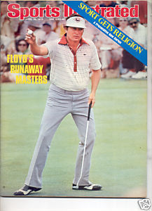 * 1976 SPORTS ILLUSTRATED RAY FLOYD MASTERS NO LABEL