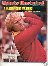 1975 SPORTS ILLUSTRATED JACK NICKLAUS WINS 5TH - $8.99