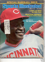 * 1976 SPORTS ILLUSTRATED JOE MORGAN CUBS - $9.74