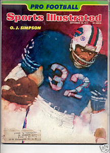 1974 SPORTS ILLUSTRATED OJ SIMPSON