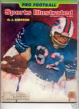 1974 SPORTS ILLUSTRATED OJ SIMPSON - $8.99
