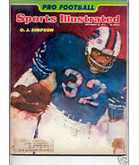 1974 SPORTS ILLUSTRATED OJ SIMPSON - $8.99