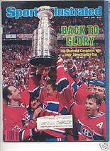 * 1986 SPORTS ILLUSTRATED MONTREAL WINS STANLEY CUP - $9.74