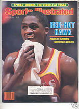 * 1986 SPORTS ILLUSTRATED ATLANTA DOMINIQUE WILKINS - $9.74