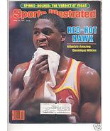 * 1986 SPORTS ILLUSTRATED ATLANTA DOMINIQUE WILKINS - $9.74