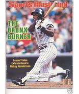 * 1986 SPORTS ILLUSTRATED NY RICKEY HENDERSON - $9.74