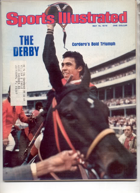 * 1976 SPORTS ILLUSTRATED CORDERO THE DERBY