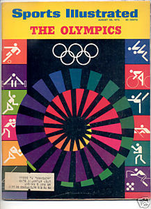 * 1972 SPORTS ILLUSTRATED THE OLYMPICS