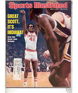* 1976 SPORTS ILLUSTRATED INDIANA SCOTT MAY - $8.39