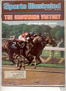 * 1978 SPORTS ILLUSTRATED AFFIRMED WINS BELMONT
