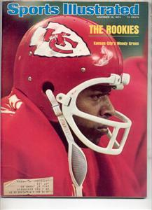 SPORTS ILLUSTRATED 1974 NOV WOODY GREEN KANSAS CITY
