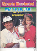 * 1986 SPORTS ILLUSTRATED RAYMOND FLOYD CHRISTINA FLOYD - $9.09