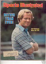 * 1978 SPORTS ILLUSTRATED JACK NICKLAUS WINS TPC - $9.74