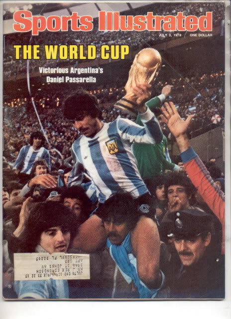 * 1978 SPORTS ILLUSTRATED DANIEL PASSARELLA