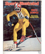 * 1976 SPORTS ILLUSTRATED WINTER OLYMPICS FRANZ KLAMMER - $9.74