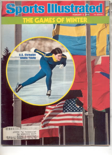 * 1976 SPORTS ILLUSTRATED SHELLA YOUNG US OLYMPIAN