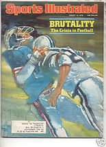 * 1978 SPORTS ILLUSTRATED BRUTALITY CRISIS IN FOOTBALL - $8.99