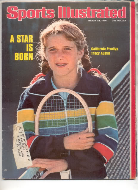 * 1976 SPORTS ILLUSTRATED TRACY AUSTIN A STAR IS BORN