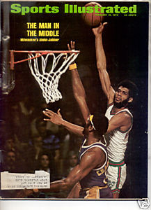 1973 SPORTS ILLUSTRATED ABDUL JABBAR MILWAUKEE