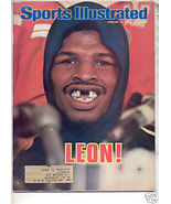 * 1978 SPORTS ILLUSTRATED LEON SPINKS ALI - $9.74