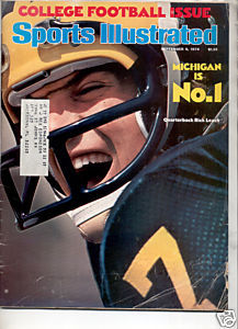 * 1976 SPORTS ILLUSTRATED MICHIGAN #1 RICK LEACH