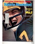 * 1976 SPORTS ILLUSTRATED MICHIGAN #1 RICK LEACH - $9.74