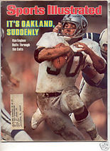 * 1978 SPORTS ILLUSTRATED OAKLAND RAIDERS VAN EEGHEN - $8.99