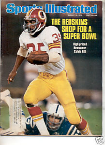 * 1976 SPORTS ILLUSTRATED REDSKINS CALVIN HILL