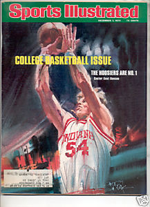 1975 SPORTS ILLUSTRATED HOOSIERS #1 KENT BENSON