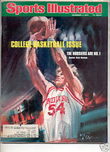 1975 SPORTS ILLUSTRATED HOOSIERS #1 KENT BENSON - $8.24