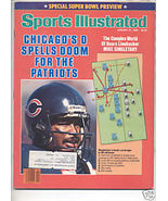 * 1986 SPORTS ILLUSTRATED CHICAGO SUPER BOWL PREVIEW - $9.74