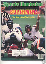 * 1986 SPORTS ILLUSTRATED BEARS MAUL PATRIOTS - $9.74