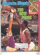 * 1986 SPORTS ILLUSTRATED HOUSTON AKEEM OLAJUWON - $9.74