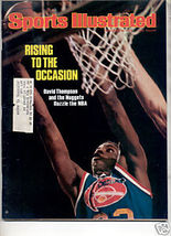 * 1976 SPORTS ILLUSTRATED DAVID THOMPSON NUGGETS - $6.99