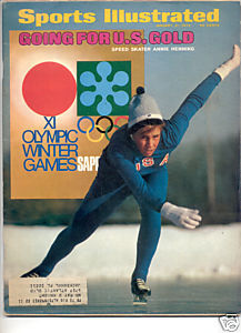 * 1972 SPORTS ILLUSTRATED ANNIE HENNING OLYMPICS