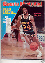 * 1976 SPORTS ILLUSTRATED MICHIGAN RICKEY GREEN - $7.69