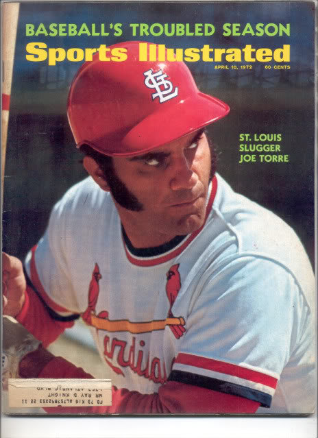 * 1972 SPORTS ILLUSTRATED JOE TORRE ST LOUIS
