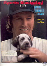 * 1972 SPORTS ILLUSTRATED YANKEES SPARKY LYLE - $7.69
