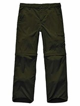 Kids Hiking Cargo Pants-Youth Boy's Outdoor Convertible Climbing Camping... - $23.28
